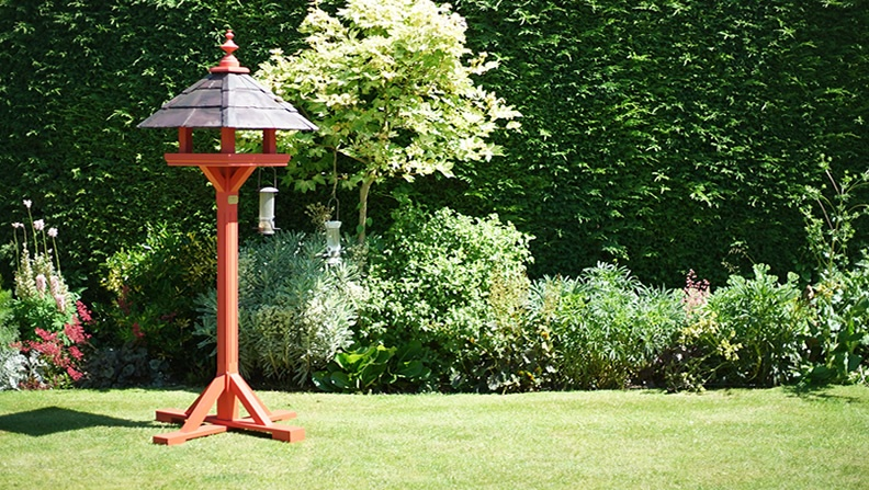 Willow Bird Table Bespoke Handcrafted Bird Feeder Table