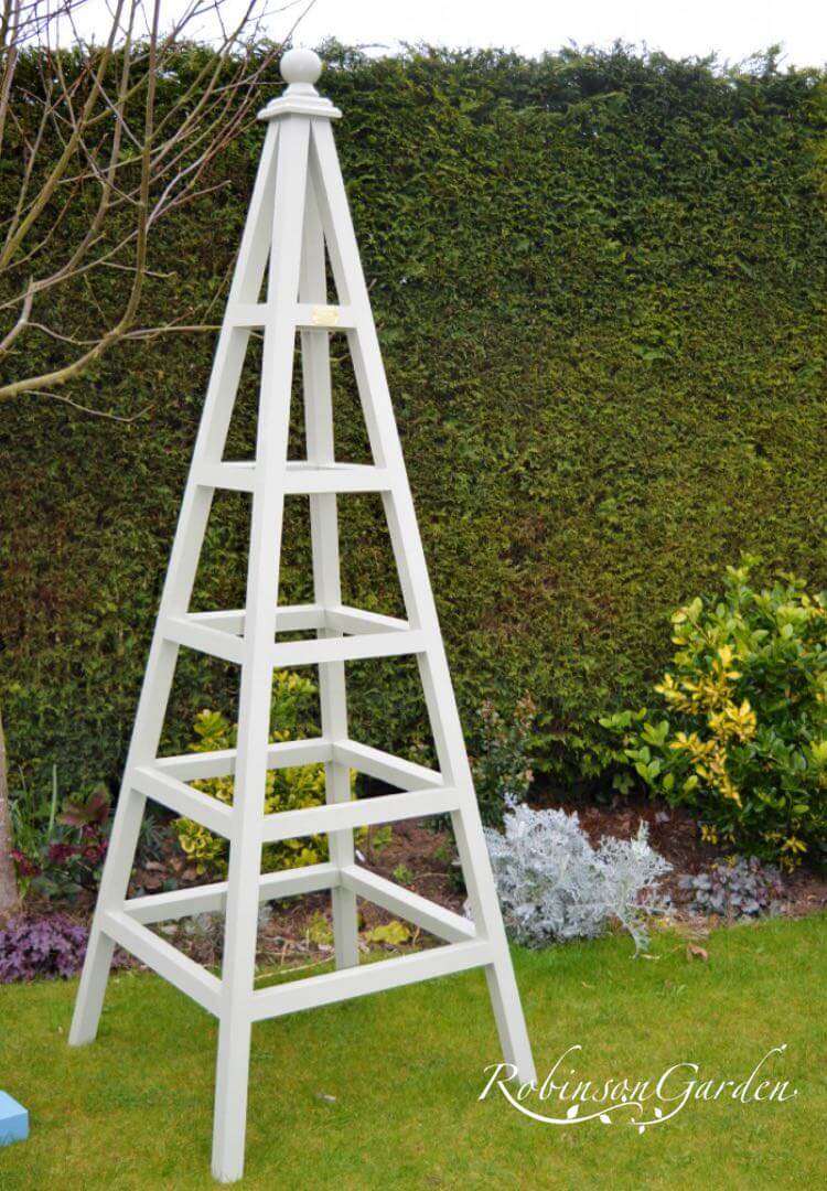 Windsor Bespoke Wooden Obelisk - French Gray