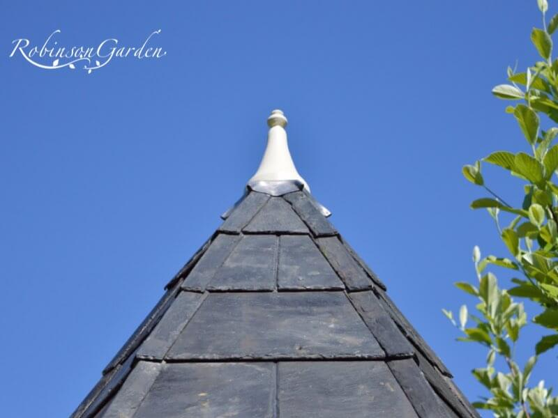 Fantail Dovecote Roof - Reclaimed Welsh Slate