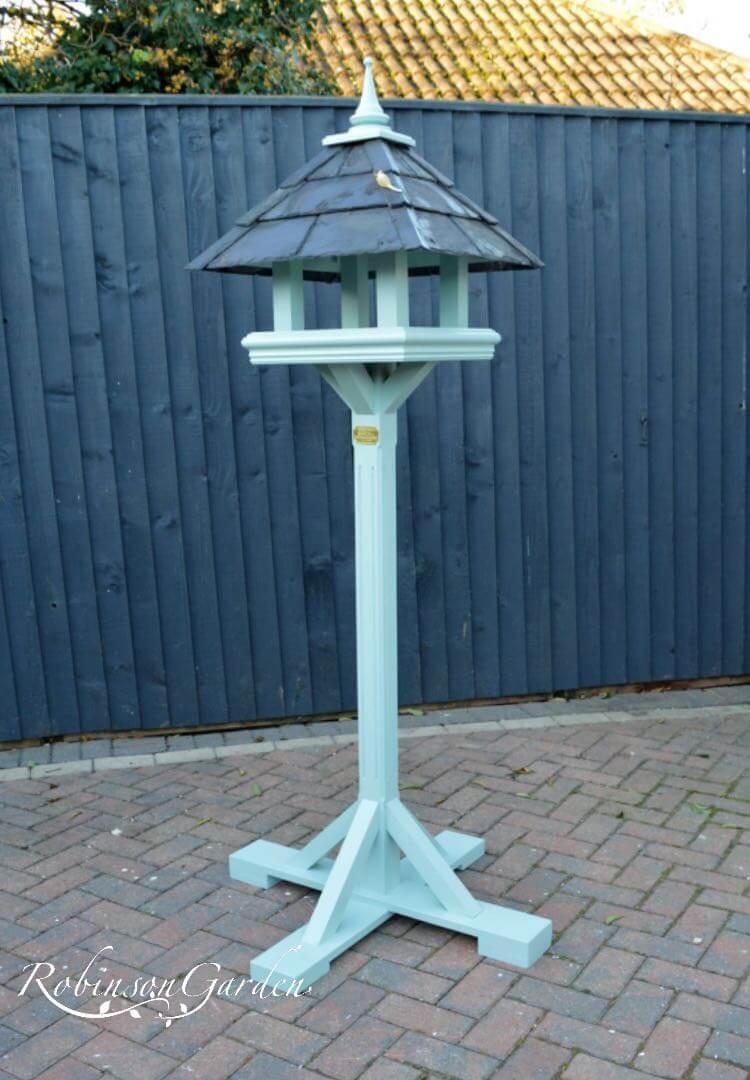 Beaulieu Bird Table Farrow & Ball - Green Blue