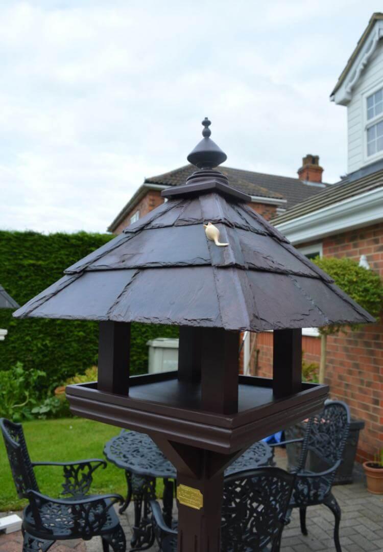 Beaulieu Bird Table Farrow & Ball - Mahogany