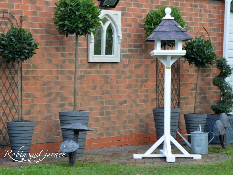 Beaulieu Bird Table Farrow & Ball - Strong White