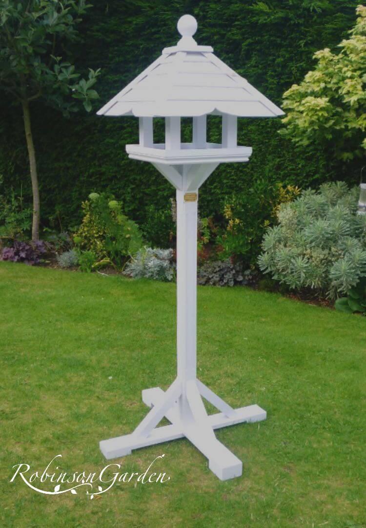 Montague Bird Table Farrow & Ball - Strong White