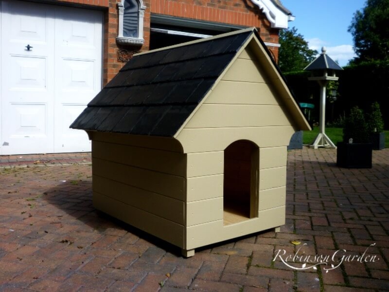 Edwardian Dog Kennel - Farrow & Ball Bone